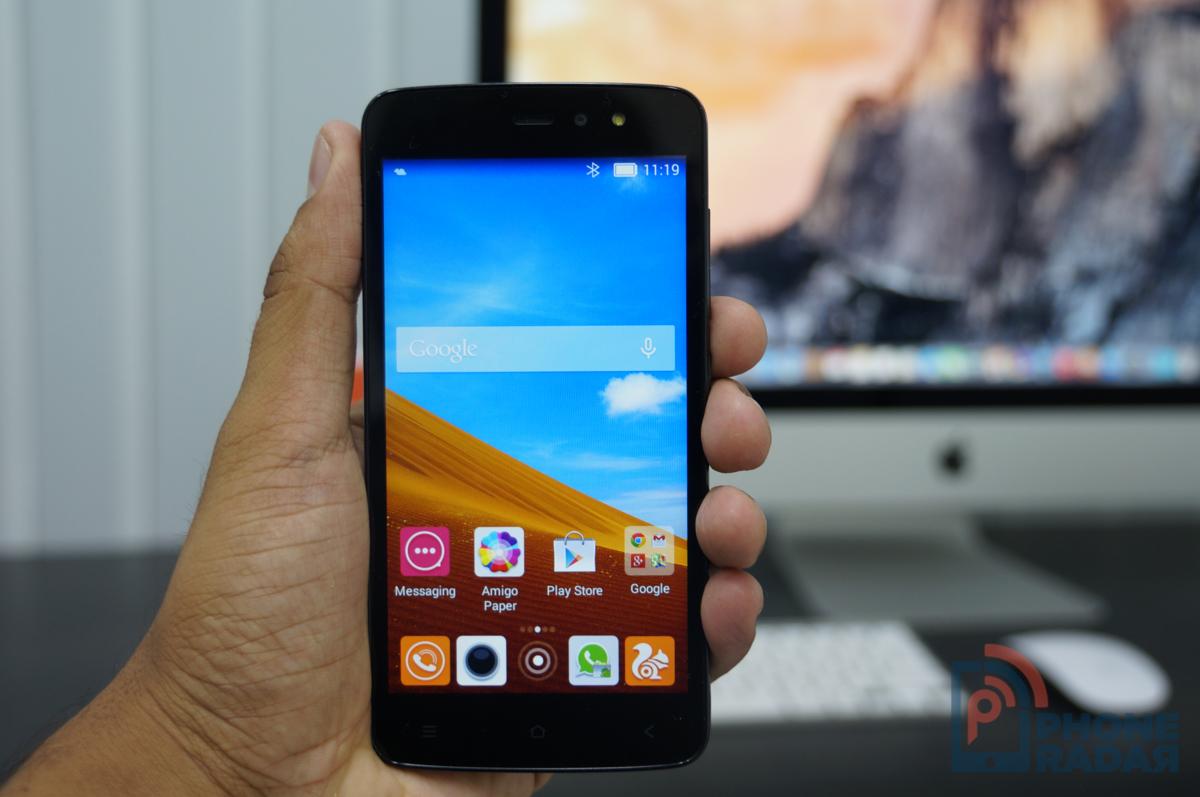 Gionee Pioneer P6 là smartphone giá rẻ trang bị đèn flash mặt trước