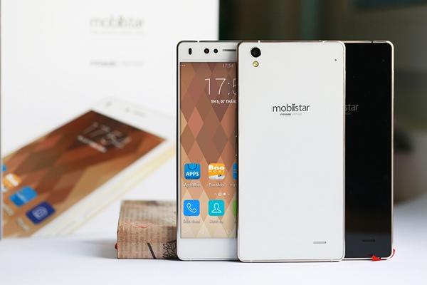 Mobiistar Prime Xense smartphone thương hiệu Việt đầu tiên trang bị đèn flash mặt trước