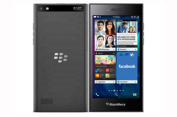 Hệ điều hành BlackBerry 10 an toàn được tích hợp trong mẫu sản phẩm này