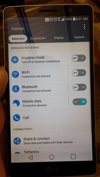 Dự kiến, hệ điều hành Android Lollipop sẽ được tích hợp trong sản phẩm này