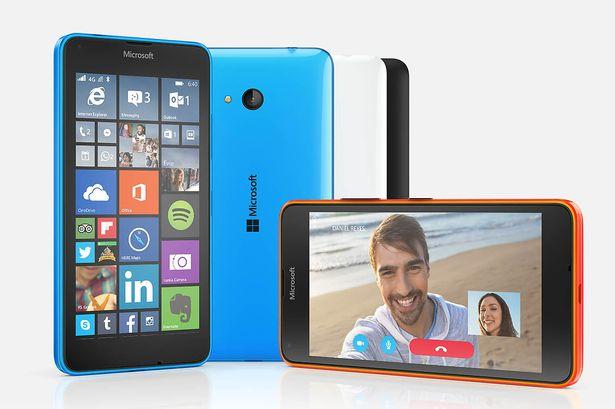 Lumia 640 sở hữu nhiều phiên bản màu đa dạng