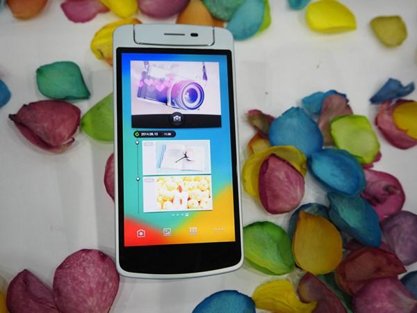 Smartphone hot nhất OPPO N1 Mini gọn nhẹ đẹp mắt, có camera xoay 2 chiều cực 'chất'