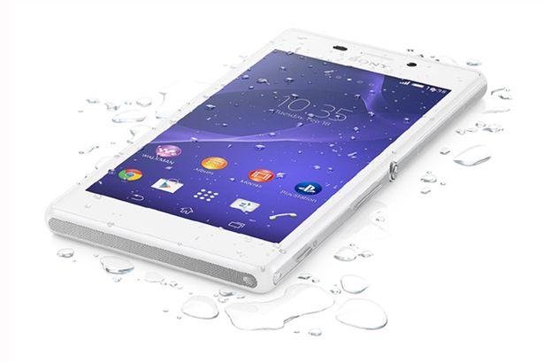 Sony Xperia M4 Aqua sở hữu tính năng chống nước vượt trội