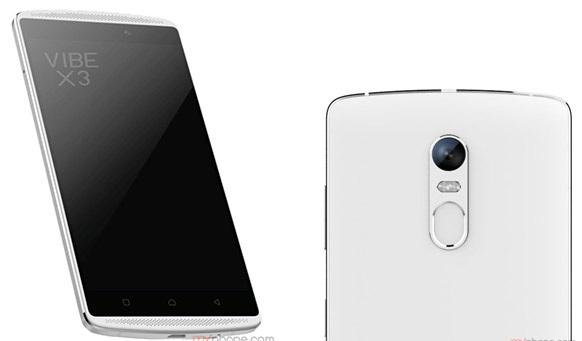 Mẫu smartphone hot nhất Vibe X3 được trang bị nhiều công nghệ tiên tiến