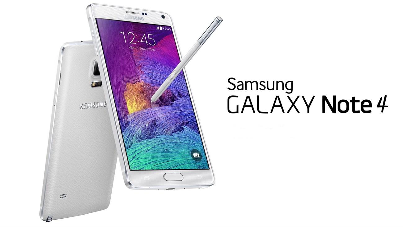 Smartphone hot nhất của hãng Samsung Galaxy Note 4 được nhiều người ưa chuộng