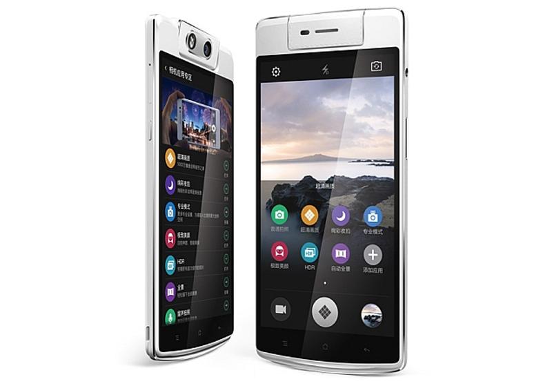 OPPO N3 nổi bật trong top smartphone hot nhất với camera sau tự xoay dùng như camera trước