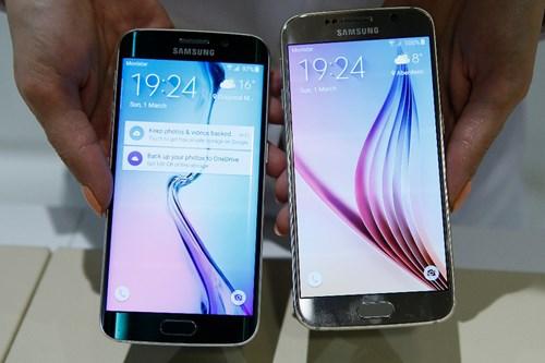 Smartphone hot nhất của Samsung là Galaxy S6 và Galaxy S6 Edge đang 'làm mưa làm gió' trên thị trường công nghệ