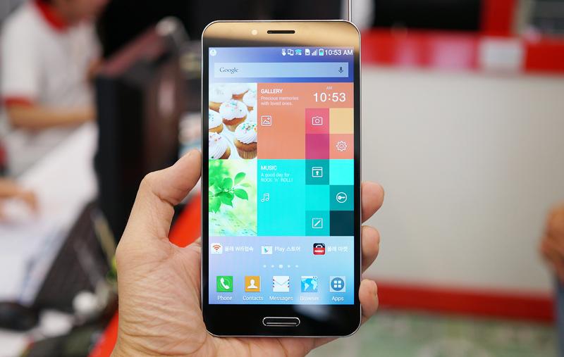 Smartphone hot nhất Pantech Vega Secret Up có màn hình rộng, cấu hình cực 'đỉnh'