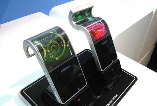 Smartphone uốn dẻo từ Samsung