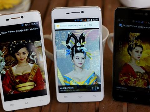 Smartphone giá rẻ Việt với thiết kế mỏng nhẹ hơn iPhone rất thích hợp làm quà cho bạn gái trong dịp Valentine