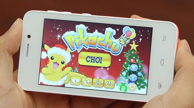 Touch Bean 402C là smartphone giá rẻ có thiết kế camera chụp ảnh tự sướng lung linh