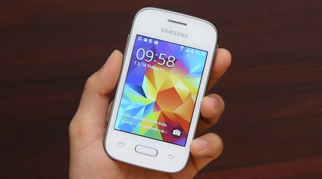 Galaxy Pocket là smartphone giá rẻ nhưng chất liệu làm nên không thua kém các sản phẩm cao cấp khác củ Samsung