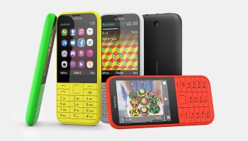Nokia 215 gây ấn tượng bởi nhiều màu sắc bắt mắt
