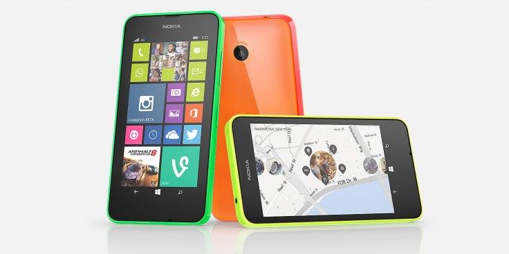 Lumia 435 là smartphone giá re hỗ trợ 2 SIM 2 sóng