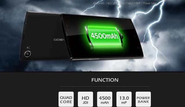 Leagoo Lead 7 là một trong những smartphone giá rẻ có pin 'khủng' nhất hiện nay