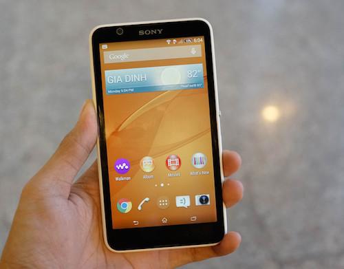 Sony Xperia E4 là smartphone giá rẻ cấu hình mạnh mẽ trong một thiết kế OmniBalance đẹp và sang trọng