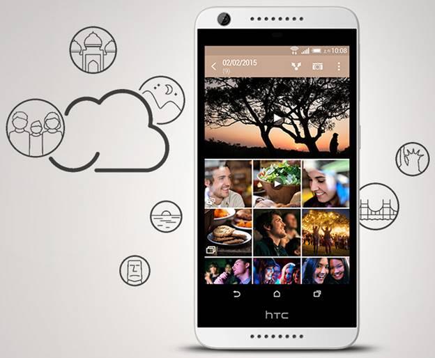 HTC Desire 626 sở hữu màn hình chuẩn và thiết kế đẹp mắt