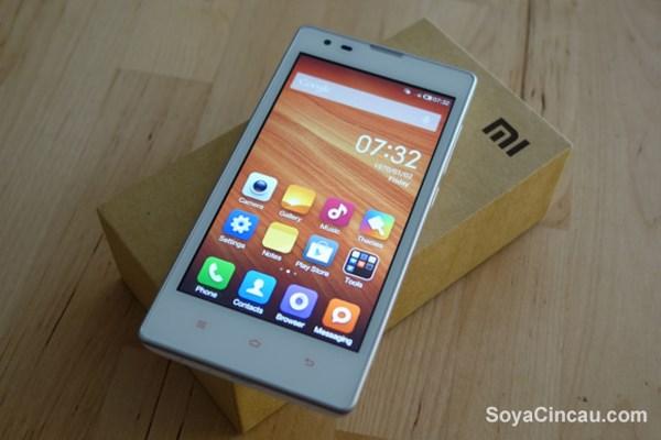 Redmi 1S là chiếc smartphone giá rẻ sở hữu thiết kế khá đẹp mắt