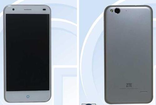 Q5-C là chiếc smartphone giá rẻ có nhiều nét thiết kế tương đồng với Iphone 6 và sắp được ZTE ra mắt