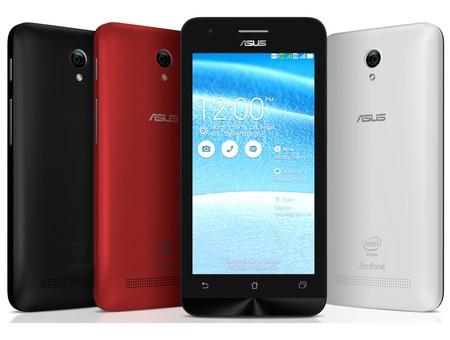 Smartphone giá rẻ Zenfone C với thiết kế gọn nhẹ gồm 3 màu đỏ, đen, trắng là một món quà không thể bỏ qua trong dịp Valentine