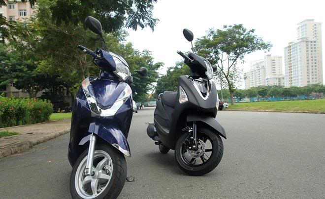 Thiết kế là điểm mạnh của cả Honda Lead và Yamaha Acruzo khi so sánh xe máy