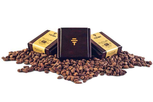 To'ak là thanh sô cô la đắt nhất thế giới với giá 6 triệu đồng. Ảnh Mirror