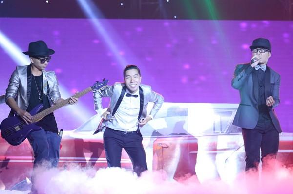 Isaac, Giang Hồng Ngọc, Sơn Tùng M-TP đồng giải nhất