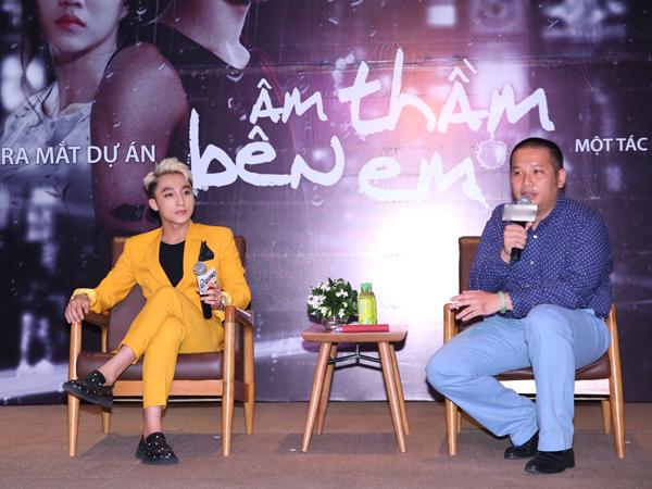 Quang Huy là người chịu trách nhiệm cho ca khúc mới của Sơn Tùng