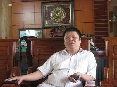 Doanh nhân Phạm Hoành Sơn có biệt danh Sơn 'Xay xát'. Ảnh: Vinacorp