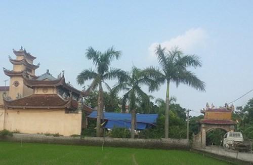 Chùa Quang Minh nơi sư trụ trì Thích Thanh Huy thắt cổ tự tử sau một thời gian nghiện ma túy và nợ nần chồng chất