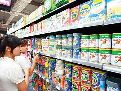 Nhiều sản phẩm sữa được cho là thiếu trọng lượng