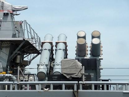 Tàu khu trục USS Fitzgerald được trang bị với rất nhiều loại vũ khí tối tân