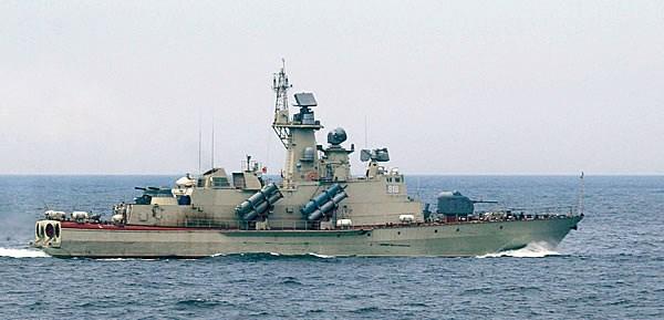Tàu tên lửa cao tốc Molniya nâng cao đáng kể sức mạnh tác chiến cho Hải quân Việt Nam