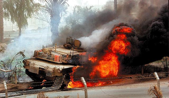 Không ít xe tăng đã