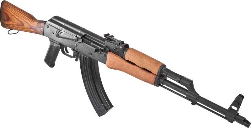 AK 47 là súng tiểu liên nổi tiếng và được sử dụng nhiều nhất trên thế giới