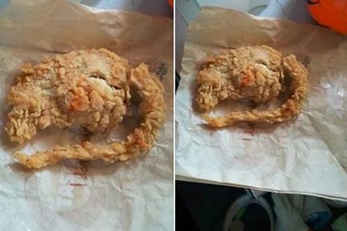 Hãng gà rán KFC đã không ít lần vướng phải bê bối thực phẩm bẩn