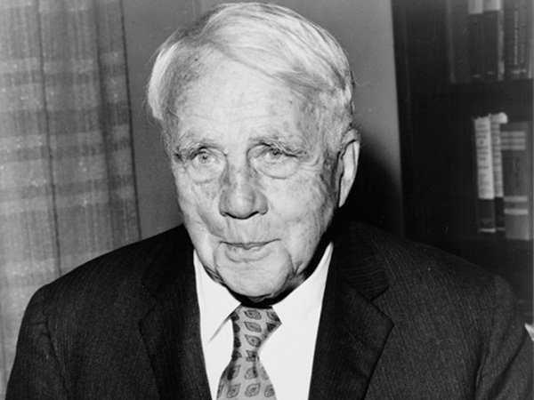 Robert Frost là nhà thơ nổi tiếng từng là sinh viên Đại học Harvard