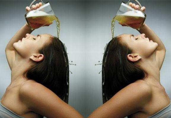 Tác dụng của bia trong việc kích thích mọc tóc và giúp tóc mềm mượt