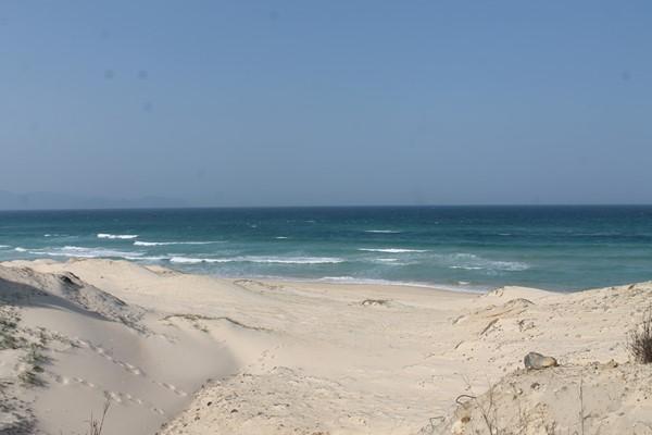 Khu vực biển nơi xảy ra tai nạn chết đuối tập thể có mực nước rất sâu và thường xuyên cuộn xoáy