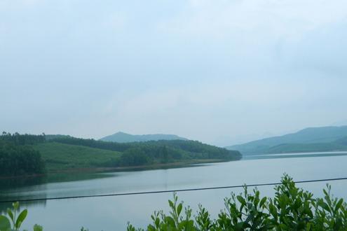Hồ Phú Ninh nơi xảy ra vụ tai nạn chết đuối thương tâm