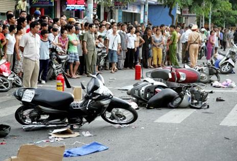 Số tai nạn giao thông ngày Tết 2015 có giảm so với năm trước