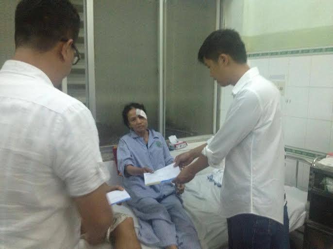 Bảo hiểm Bảo Việt đã tạm ứng bồi thường cho các nạn nhân của vụ tai nạn giao thông thảm khốc tại Bình Thuận