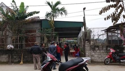 Ngôi nhà của gia đình nạn nhân vụ tai nạn hy hữu bị trâu húc chết