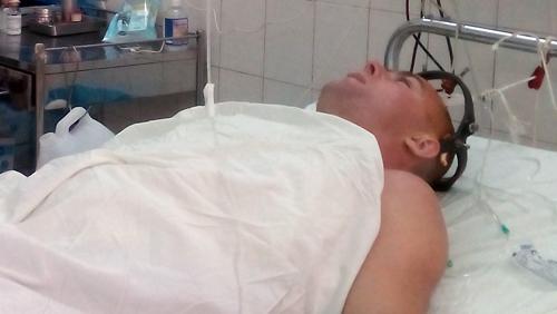Vụ tai nạn hy hữu khiến du khách người Nga nhập viện trong tình trạng gãy cột sống cổ, liệt tứ chi