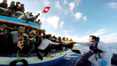Từng có rất nhiều người di cư thiệt mạng sau các tai nạn tàu biển ở khu vực Địa Trung Hải