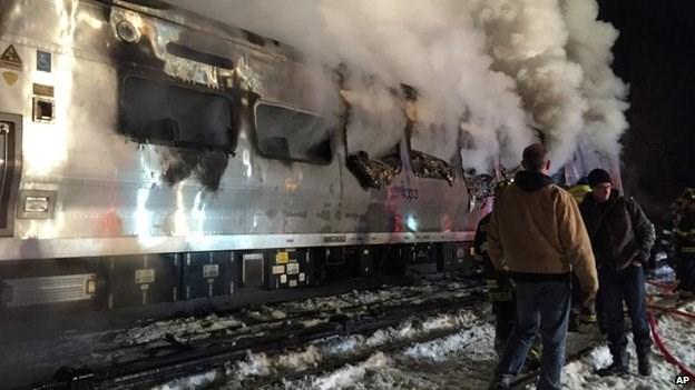 Tai nạn tàu điện ngầm gần New York đã khiến 6 người thiệt mạng