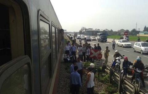 Hiện trường xảy ra vụ tai nạn tàu hỏa thảm khốc ở Nghệ An