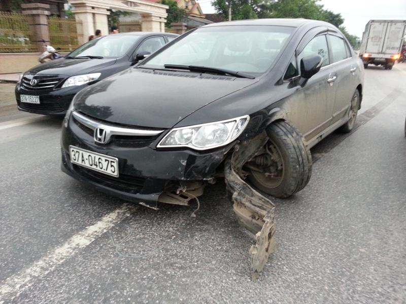 Vụ gây tai nạn rồi bỏ chạy trong trạng thái say xỉn