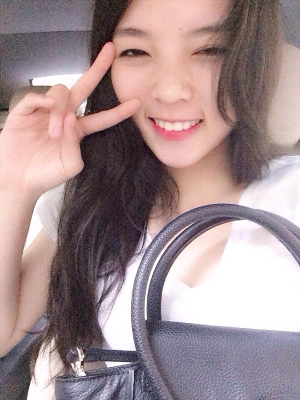 Ảnh của Nguyễn Cao Kỳ Duyên -Tân Hoa hậu Việt Nam 2014 trước khi đăng quang