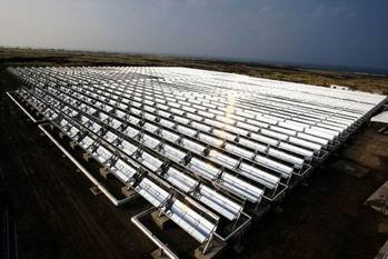 Pin nhiệt mặt trời có năng suất cao gấp 8 lần pin thường